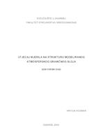 prikaz prve stranice dokumenta Utjecaj mjerila na strukturu modeliranog atmosferskog graničnog sloja